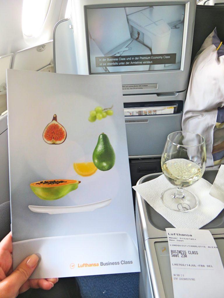 Amazing food menus