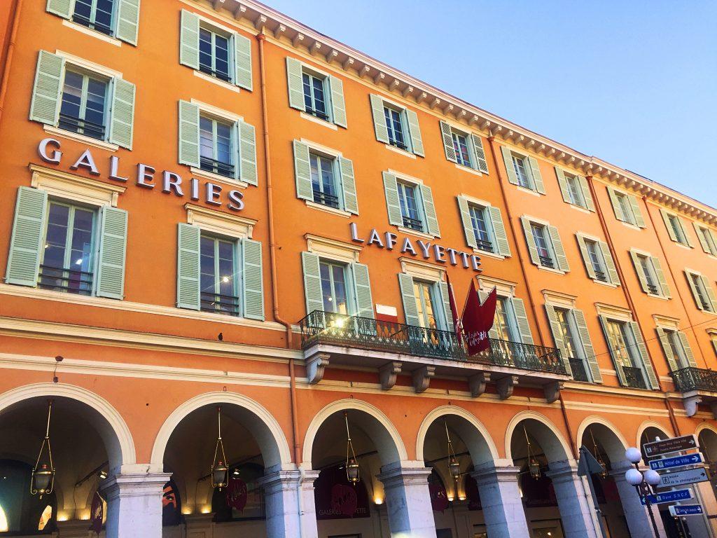 Galleri Lafayette i Nice