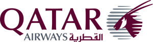 Logo of the airline Qatar Airways