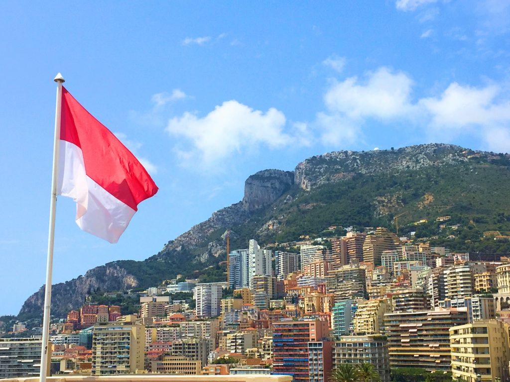 Utsikt över Monaco
