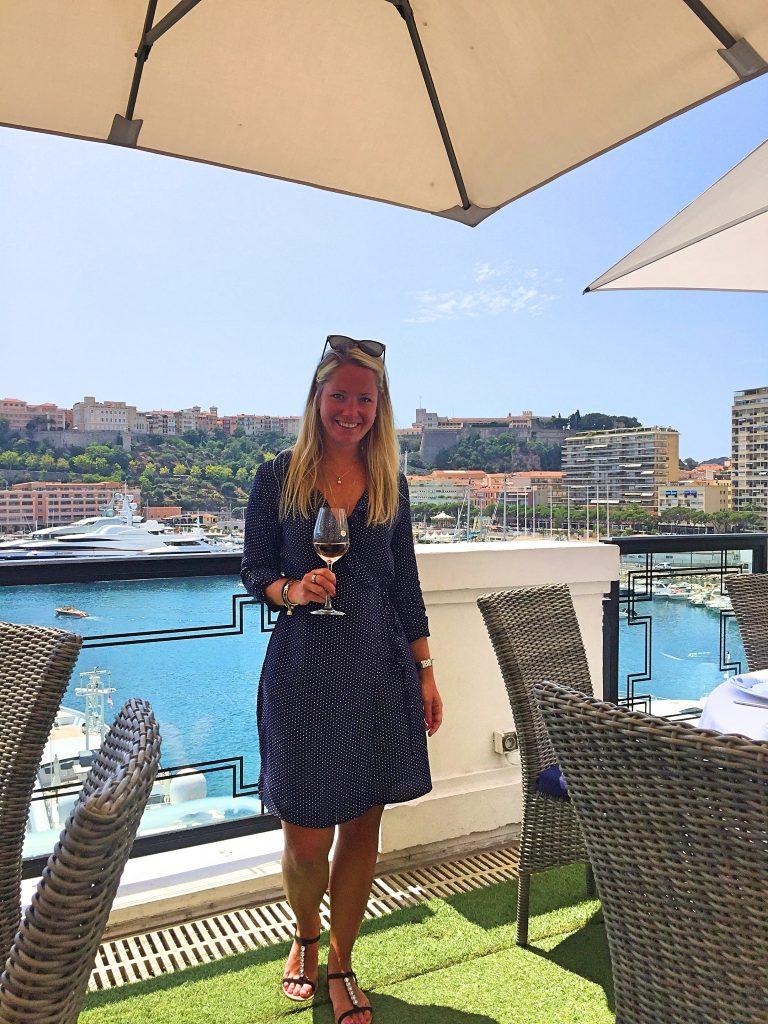 Lunch i Monaco