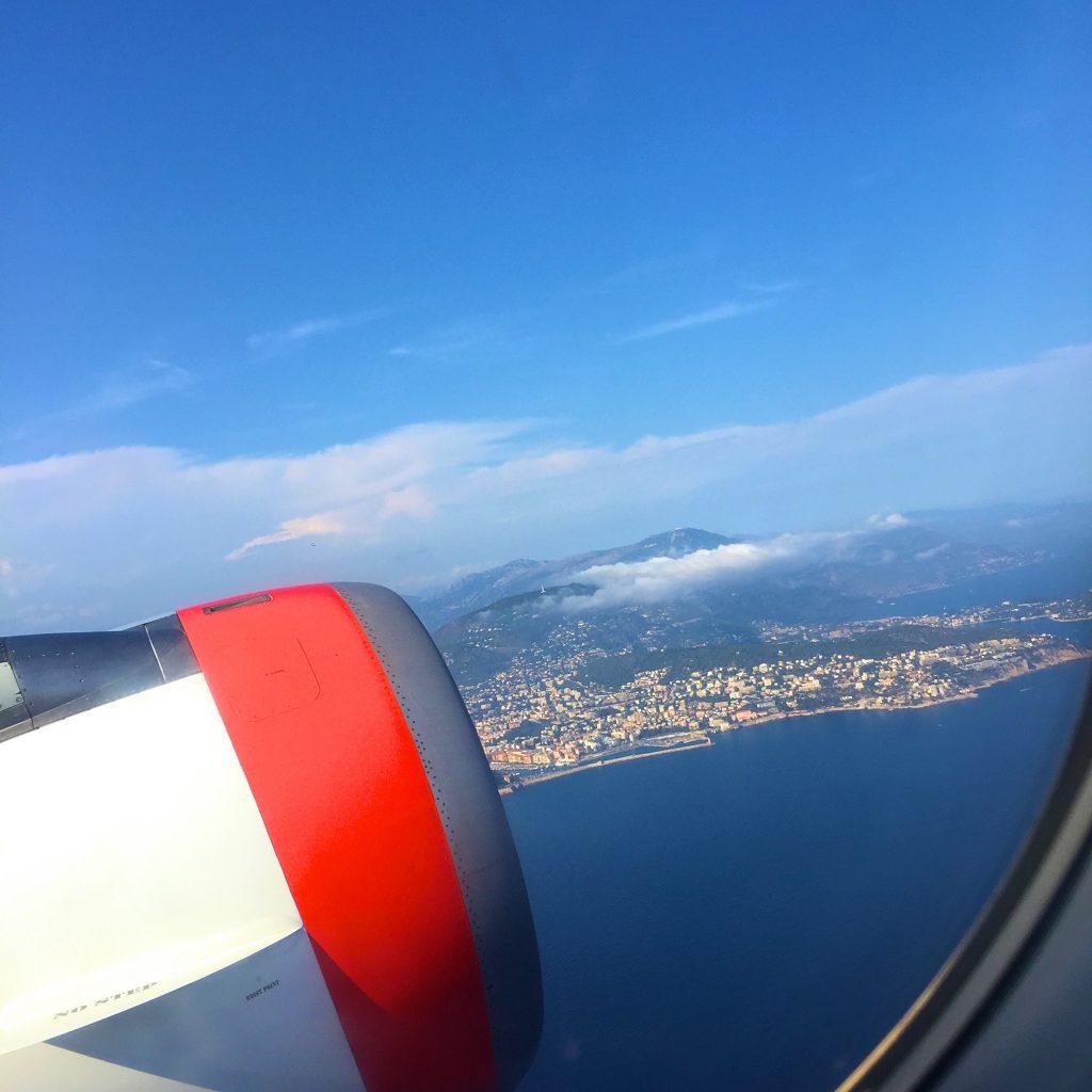 Flyg från Nice