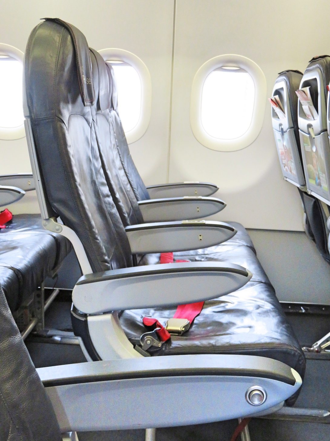 Another picture of the seats in the plane