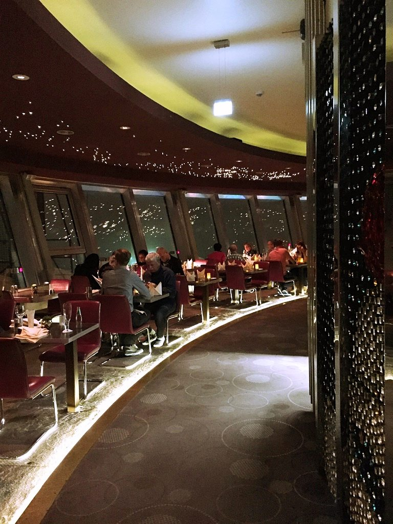 Restaurant in Tv tower Berlin