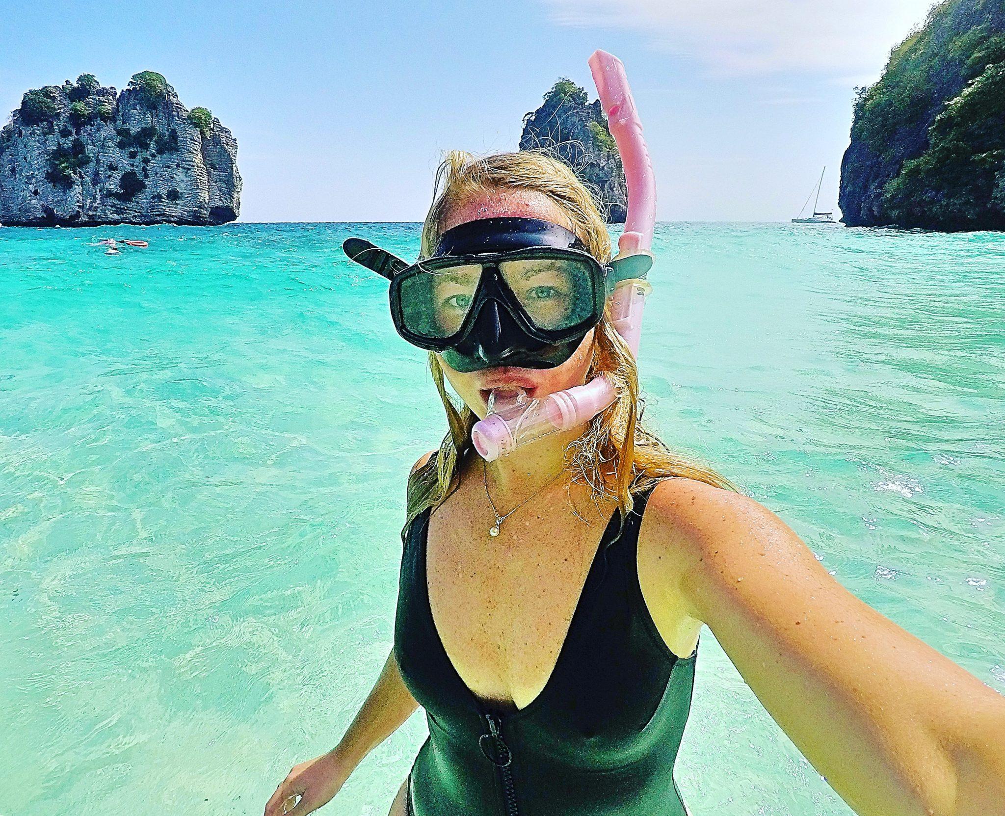Snorkling i Thailand