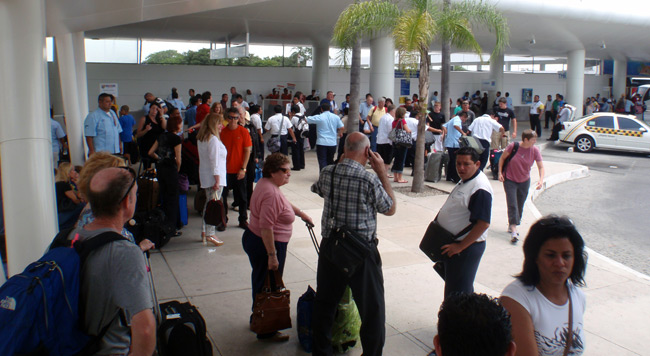 Cancun Airport Mexico