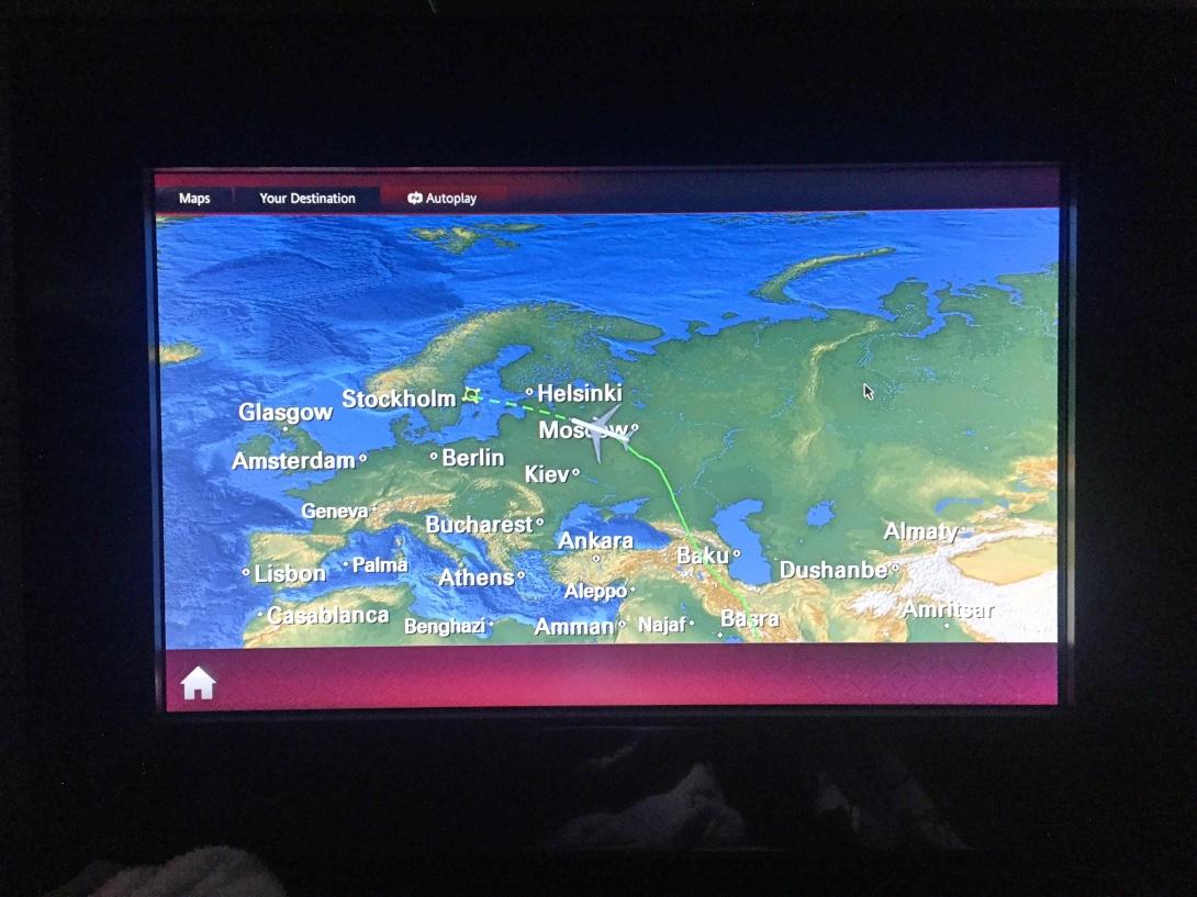 Qatar Airways Dreamliner Business Class