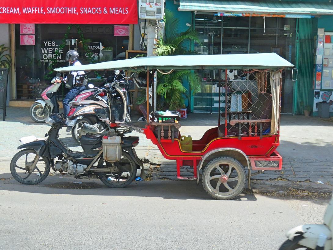 Tuk Tuk i Phnom Penh