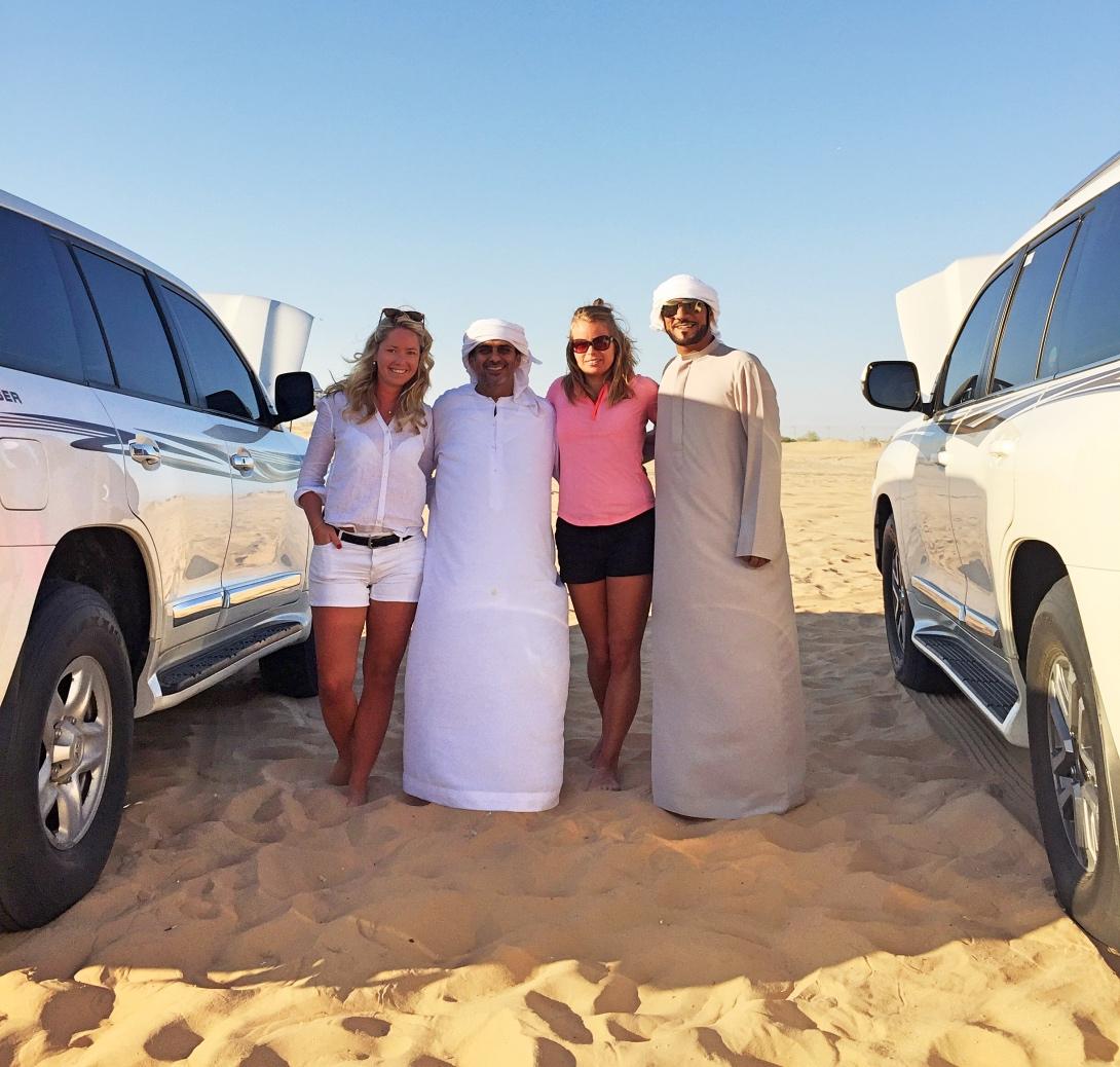 Öknen i Abu Dhabi