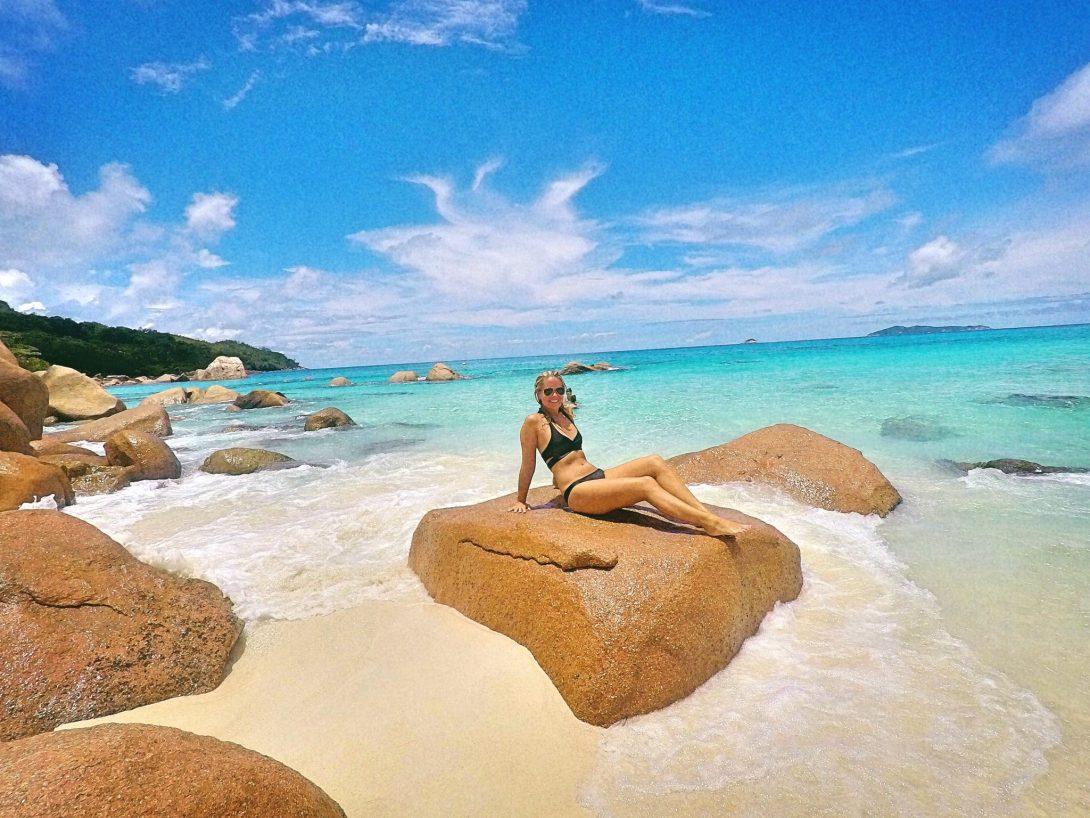 Anse Lazio, Seychellerna