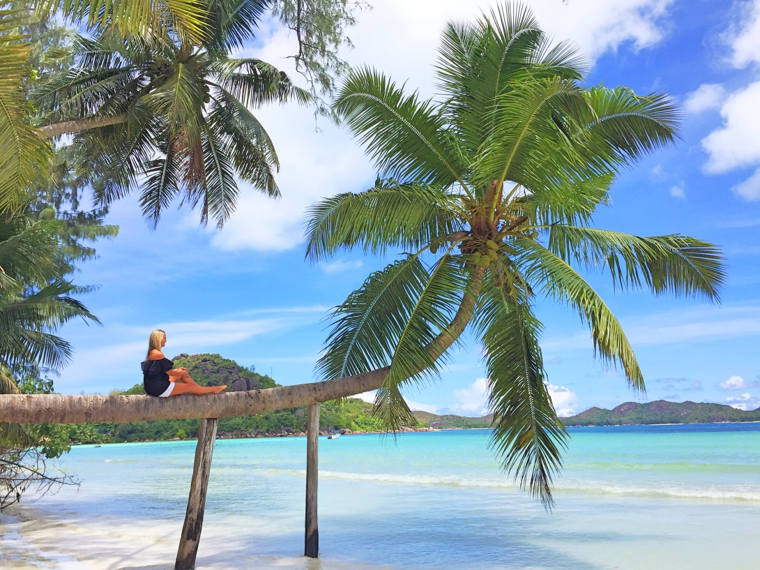 Praslin island, Seychellerna