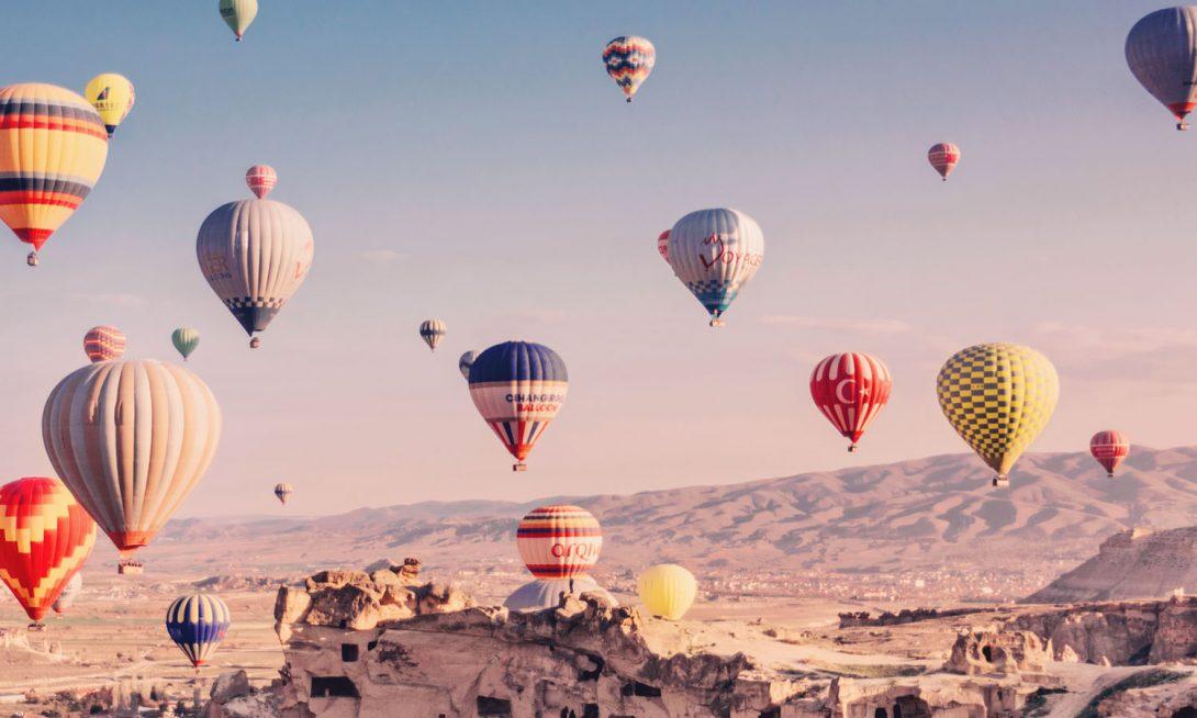 cappadoccia luftballong