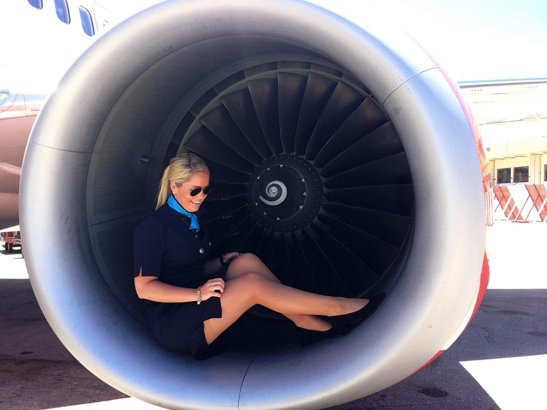 Flygvärdinna på SAS