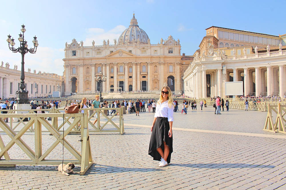 Påvens torg i Rom