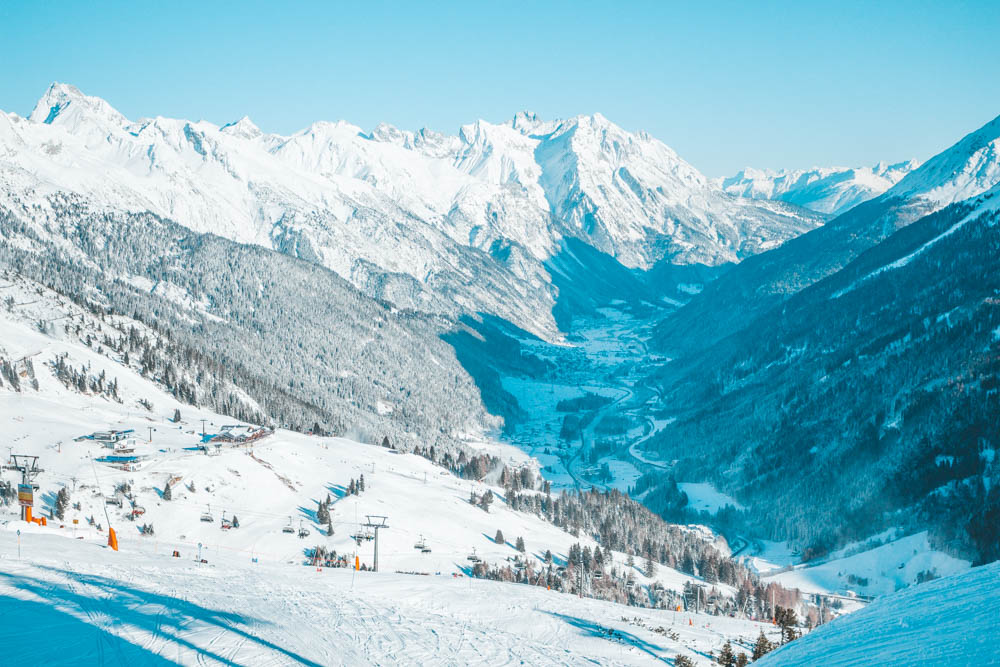 St Anton Österrike