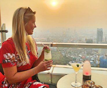 Red sky, Bangkok