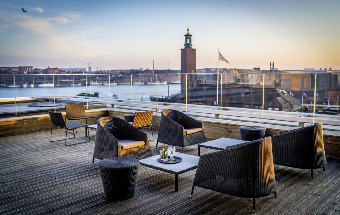 scandic continental rooftop