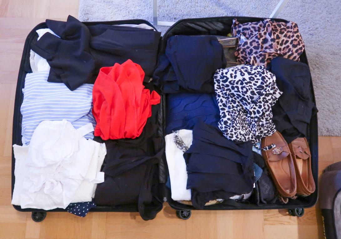 Packningstips Resväska