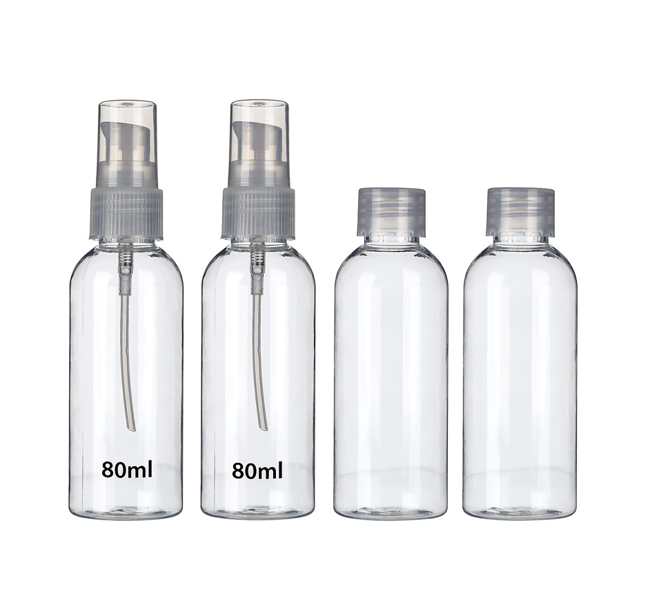 Resekit flaskor