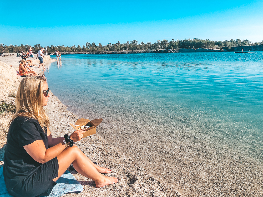 Blå lagunen, Gotland